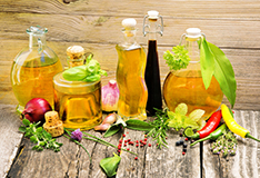 How long can you keep vinegars and oils?