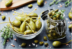 Capers: a traditional flavour of southern Europe