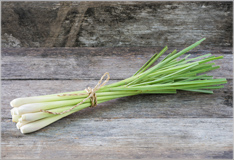 Lemon grass for a fresh exotic flavour