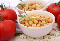 Chick peas – a classic ingredient in oriental cookery