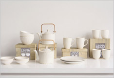 A new teaset for a trendy beverage