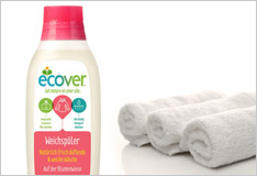 Green laundry with Ecover