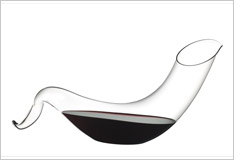 New decanters from Riedel, the glassmakers