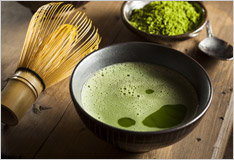Matcha – on-trend green tea from Japan