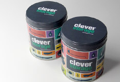 """Clever Storage"" cans now available"
