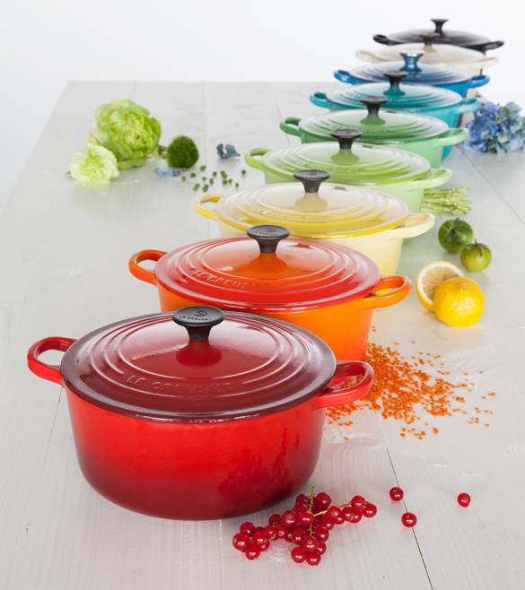 Clever Storage Le Creuset Colours Life Bright
