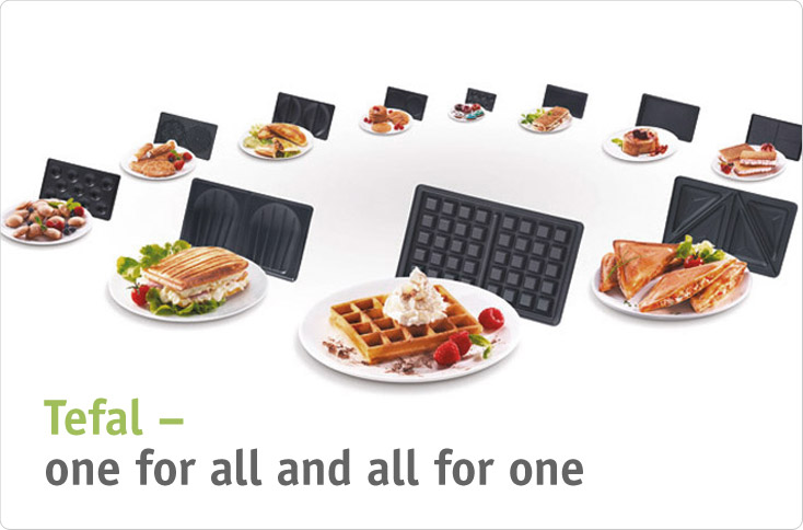 tefal snack collection has 12 different grill plate. Black Bedroom Furniture Sets. Home Design Ideas