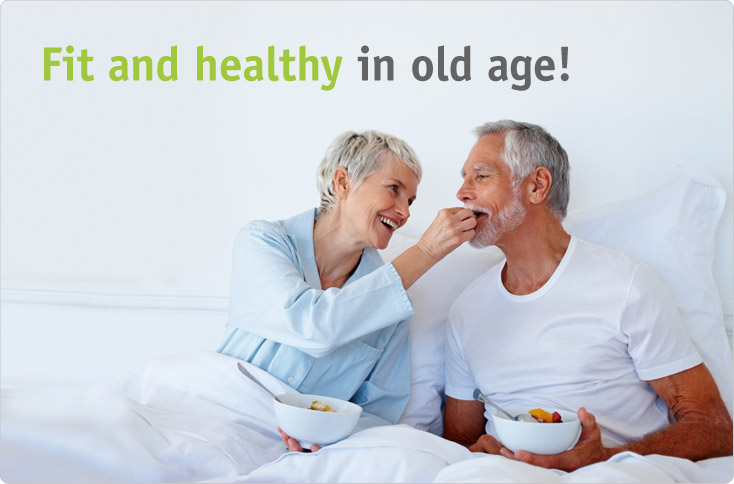Healthy Old Couple