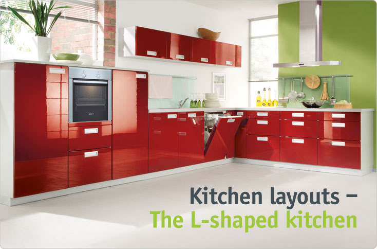 Clever storage The L shaped Kitchen