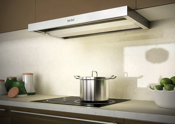And Where Does The Used Kitchen Air Go? A Berbel Exhaust Hood Blows The  Cleaned Air Out Of The Building In An Energy Efficient Way.