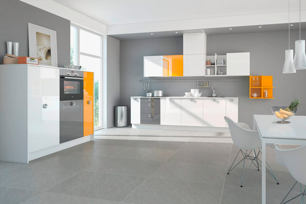 Clever Storage Nolte Kitchens Fresh Colours For Newcomers